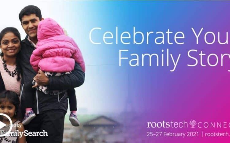 Največji praznik rodoslovja na planetu RootsTech bo virtualen in brezplačen