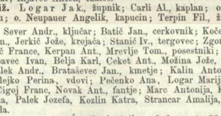 Priimki Slovencev (4)