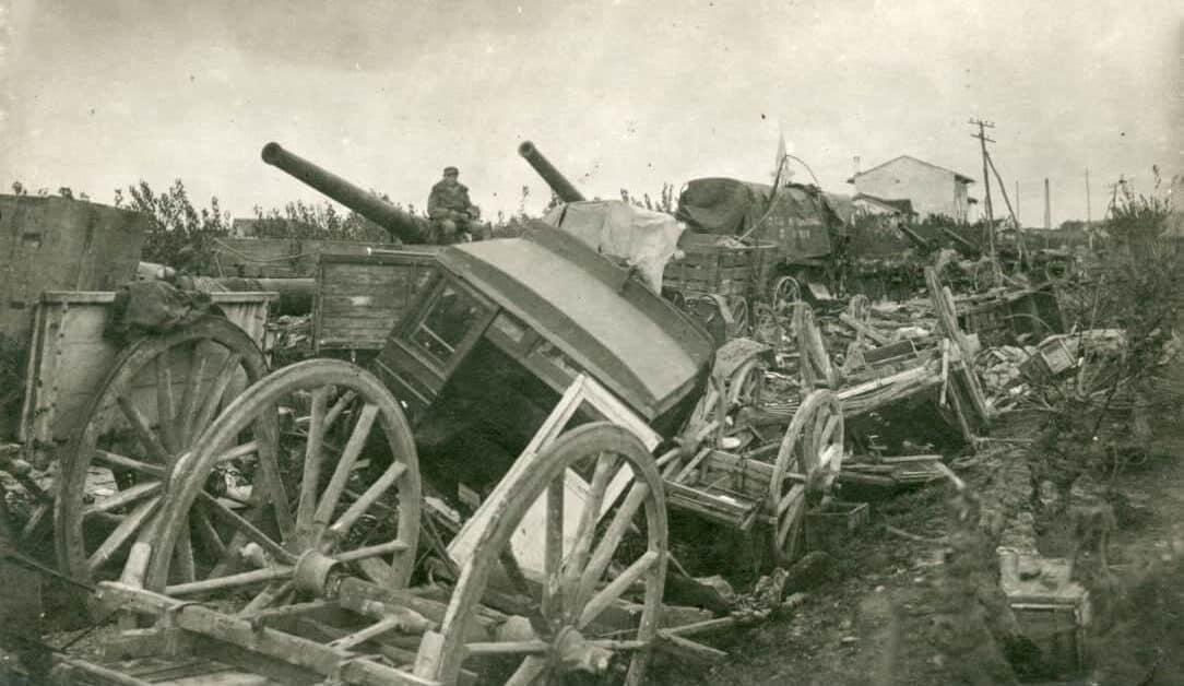 Čudež pri Kobaridu, katastrofa Caporetto