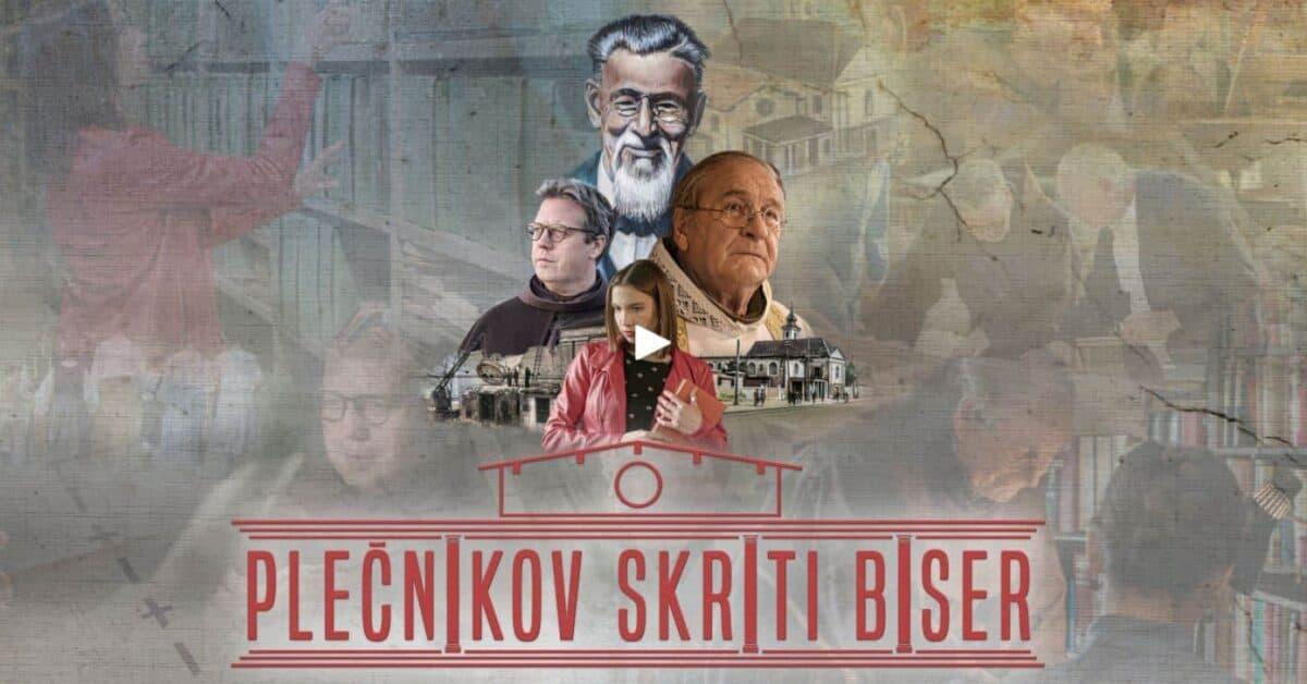 Nov film o Plečniku