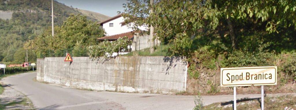 Imena kuća Vipavske (8): Spodnja Branica