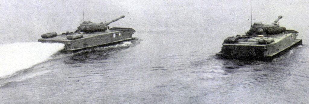 Plavajoči tank