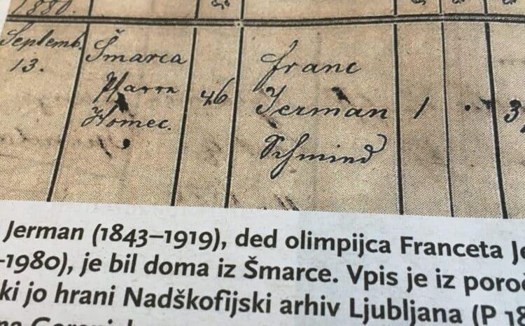 Sobre el origen del apellido Jerman