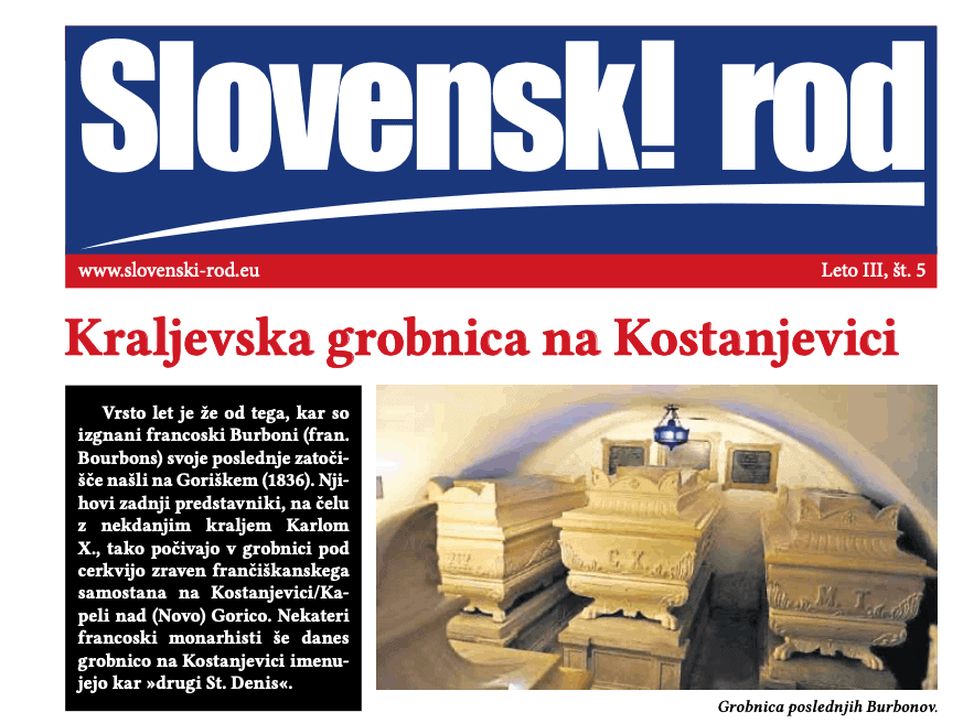 Urad za Slovence po svetu je podprl Slovenski rod