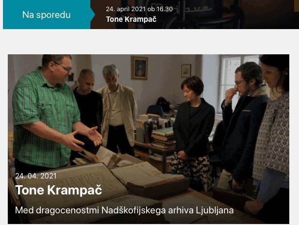 Tone Krampač: arhivist z idejami, ki jih je že preveč