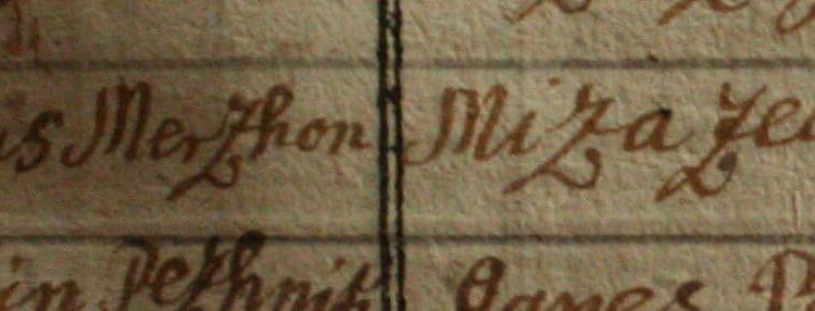Sobre el origen del apellido Mrčun, Merčun, Merčon y Marčun