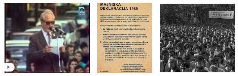 8. maj 1989: Druga Majniška deklaracija