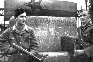 8. maj 1945: Jugoslovanska vojska v Celovcu
