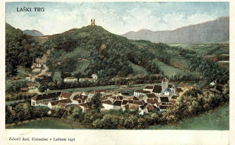 1. Mai 1854: Kurort in Laško