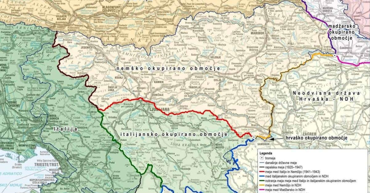 3. maj 1945: Razkosana Slovenija
