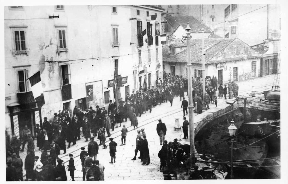 24 de mayo de 1915: los italianos desplazan a los eslovenos