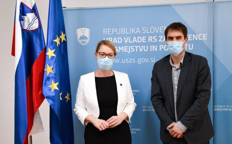 Ministrica za Slovence po svetu pri šefu RTVS