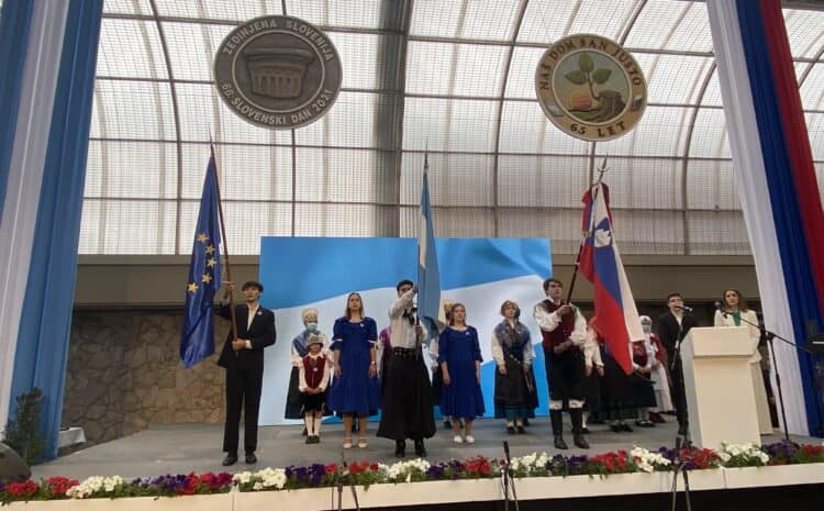 Ministrica na 66. Slovenskem dnevu v Argentini